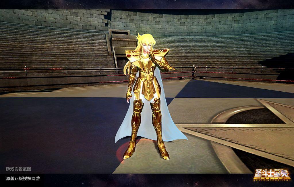 人物简介:天秤座的黄金圣斗士