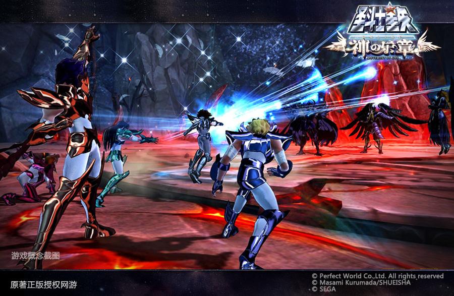图片: 图2:勇斗强大BOSS的圣斗士五小强.jpg